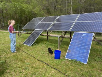 This can cause our solar panels trouble producing power!!